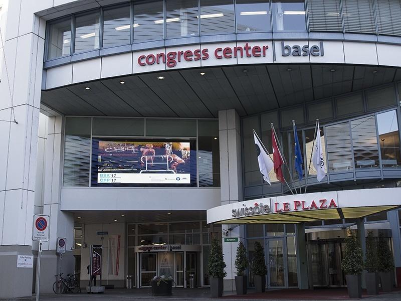Das Foto zeigt das Congress Center Basel.
