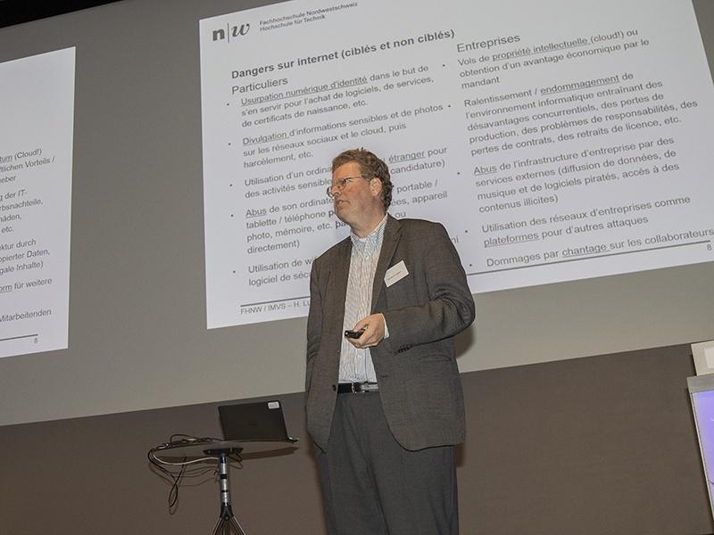 Foto zeigt Prof. Dr. Hannes P. Lubich.