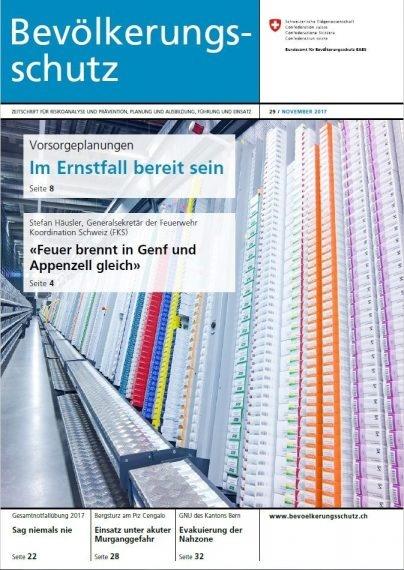 Bild zeigt Titelseite der Zeitschrift