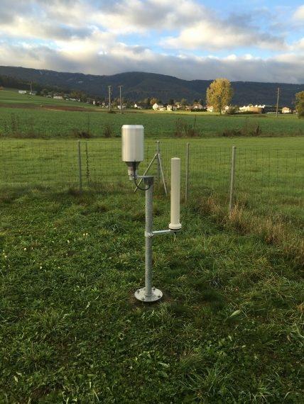 Messstation in Delémont mit neuer NADAM-Sonde
