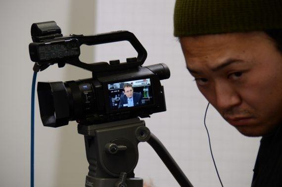 Japanische Journalisten beim Bundesamt für Bevölkerungsschutz (BABS)