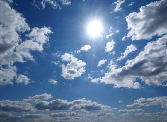 Ciel avec soleil