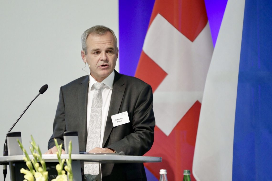 Direktor BABS Benno Bühlmann
