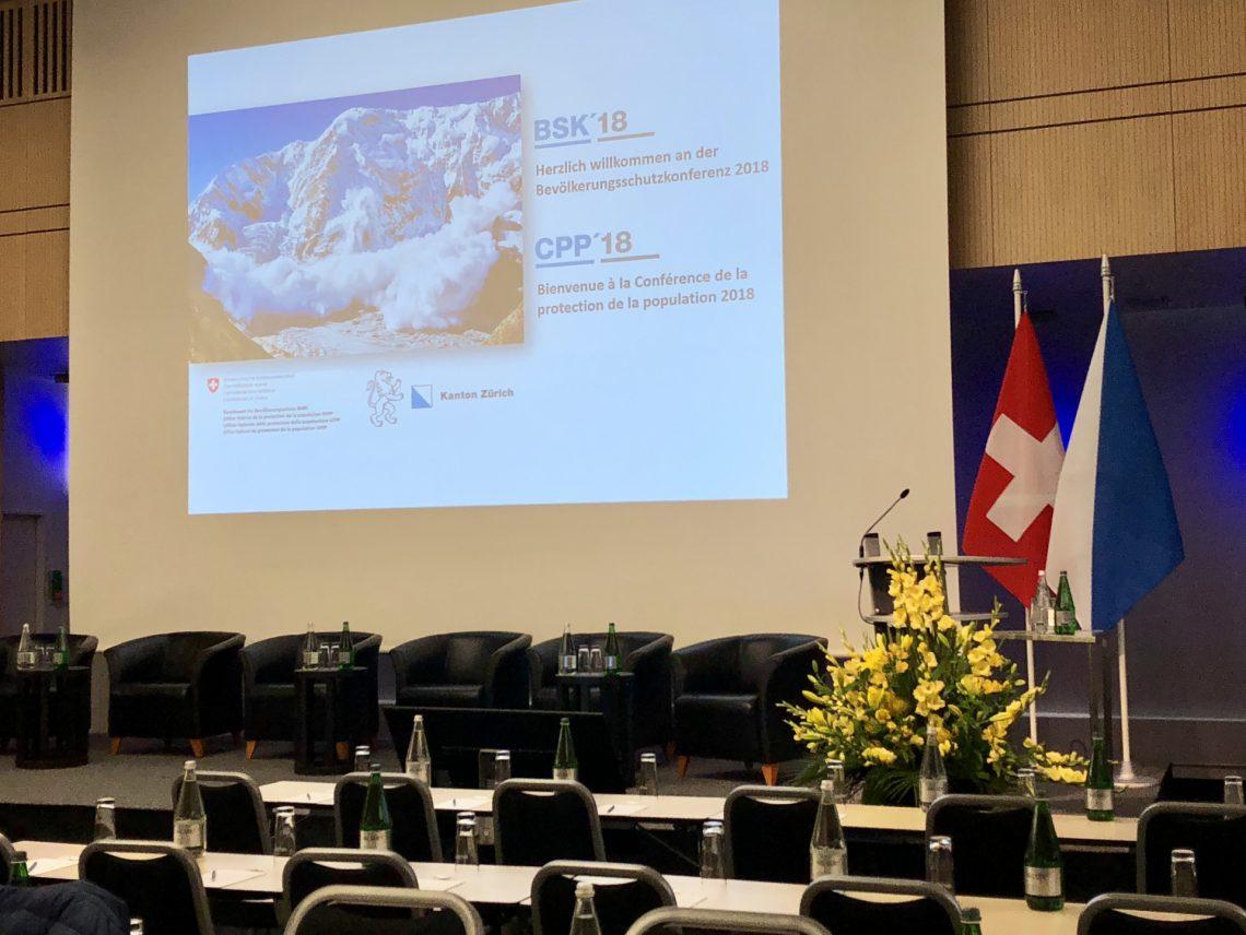 La Conférence de la protection de la population 2018 a eu lieu au Swissôtel de Zurich