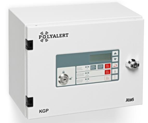 •Das Kommandogerät POLYALERT (KGP) wird für die Auslösung der Sirenen eingesetzt. z.B. von einer Stauanlage.