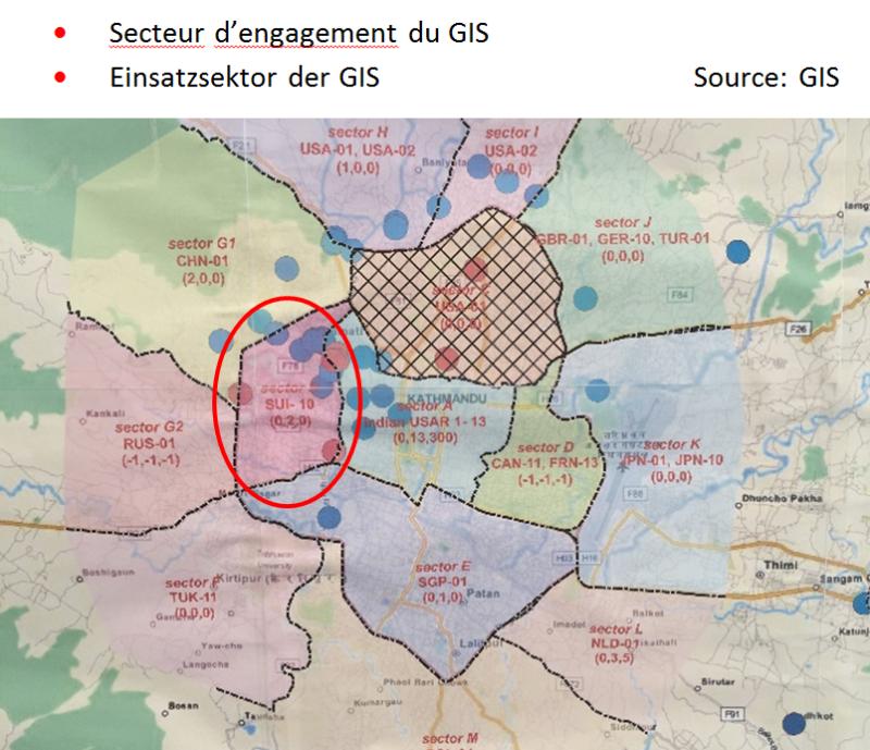 Einsatzsektor der GIS
