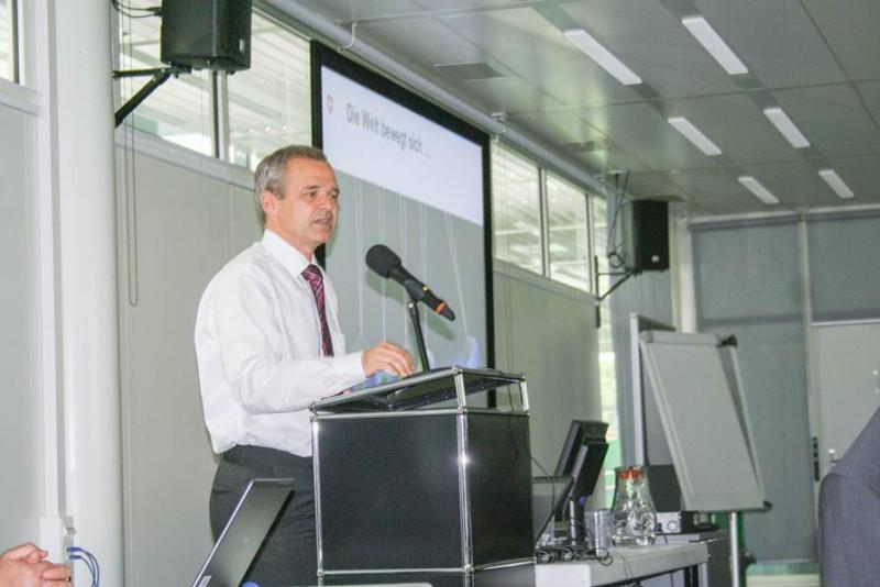 BABS-Direktor Benno Bühlmann unterstrich in seinem Referat die Wichtigkeit des Zivilschutzes.