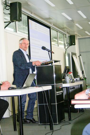SZSV-Präsident Walter Müller sprach von der Herausforderung, die laufenden Reformen gut aufeinander abzustimmen