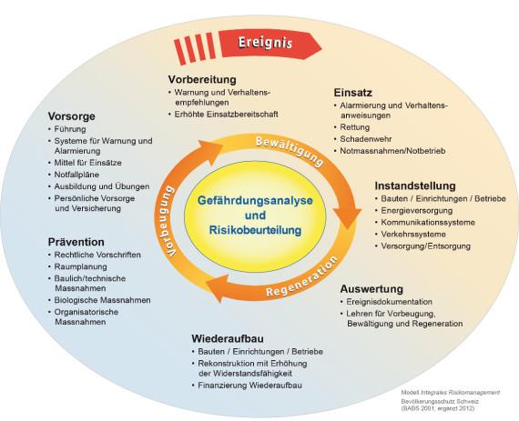 Modell des integralen Risikomanagements