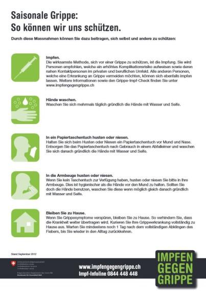 Impfen gegen Grippe